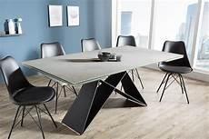 Esstisch Modern Ausziehbar - moderner keramik esstisch prometheus 180 220 260cm beton