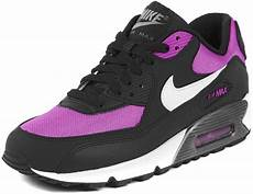 nike air max 90 youth gs shoes black pink white