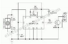 What Is The Block Diagram Of Shock Sensor And Its Working