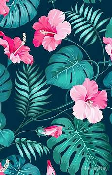 Tropical Flower Wallpaper Hd by Tropical Flower Pattern Tropical Background Tropical