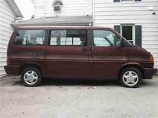 buy used 1993 vw eurovan mv volkswagen 5 cylinder not running for restore or parts in