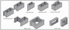 betonsteine mit loch typical sizes and shapes of concrete masonry units ncma