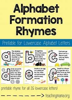 lowercase alphabet formation rhymes teaching the alphabet preschool transitions preschool songs
