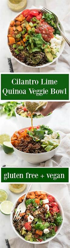 ad nowwellness cilantro lime quinoa veggie bowl now foods giveaway nutritious eats