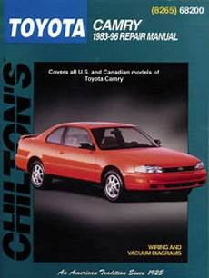 chilton car manuals free download 1992 toyota camry head up display chilton toyota camry 1983 1996 repair manual