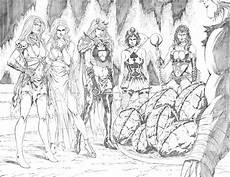 zenescope bad girls grimm fairy tales 70 pg22 23 by