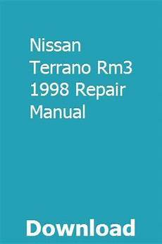 download car manuals pdf free 1998 nissan pathfinder security system nissan terrano rm3 1998 repair manual repair manuals nissan terrano nissan