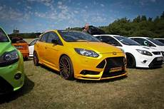 yellow ford focus st mk3 tuning ford focus st ford