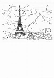 ausmalbilder zum ausdrucken gratis malvorlagen eiffelturm 2