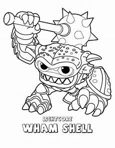 dino rang skylander coloring pages 16860 desenho de wham shell de skylanders para colorir tudodesenhos