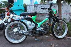 Modifikasi Honda C70 by Modifikasi Honda C70 Brotherhood Cub Owner Jember Bcoj