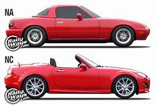Mazda Mx 5 Na Miata Vs Nc Miata Generation Match Up