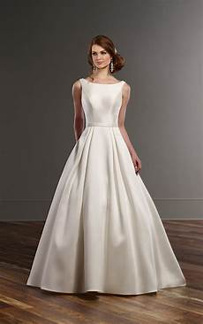 Gallery Wedding Dresses With Pockets a line wedding dress with pockets martina liana