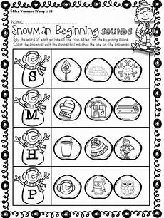 winter phonics worksheets for kindergarten 20143 winter math and literacy worksheets and activities no prep kindergarten activities word