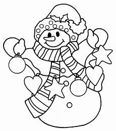 snowman coloring pages for kindergarten at getcolorings