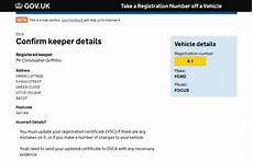 how to change registered keeper of car specialist car