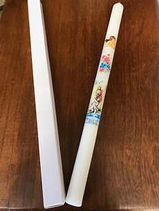 candela battesimo candela per il battesimo in confezione con cartoncino