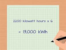 Kilowatt In Watt - how to calculate kilowatt hours with calculator wikihow