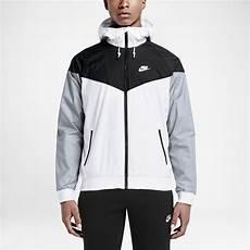 nike sportswear windrunner men s jacket in white for men