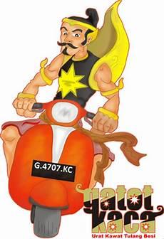 Gambar Kartun Lucu Naik Vespa Komicbox