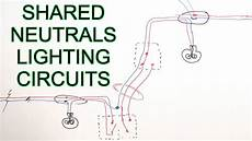borrowed neutrals old lighting circuits youtube