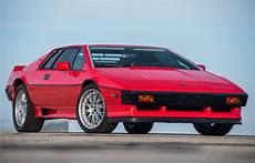 Lotus Esprit Turbo - 1983 lotus esprit turbo investor s special edition for