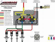 Headlight Wiring Diagram 2 by Vwvortex S2 Headlight Wiring