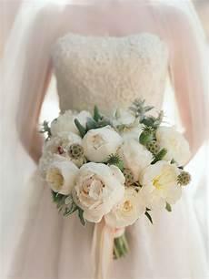 white peony bouquets