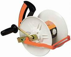 gallagher g61150 electric fence geared reel toolboxsupply com