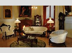 Victorian Living Room 644   Victorian Furniture