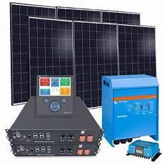 solar anlage 2 6 kw hybridset 48v solarmodul 325wp back