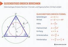 km h rechner formel gleichseitiges dreieck berechnen fl 228 che h 246 he formel