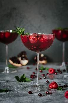 raspberry and pomegranate ros 233 summer cocktail foolproof