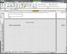 excel 2010 how to insert page number and sheet name in