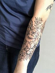 Floral Half Sleeve Completion By B At Waukesha