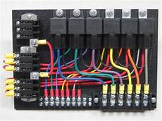 6 Relay Panel With Relays In Sockets 12 Volt Electrical