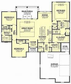 acadian country house plans acadian home 3 bedrms 2 baths 1817 sq ft plan 142