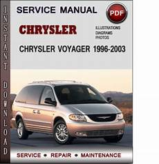 car maintenance manuals 2003 chrysler voyager head up display chrysler voyager 1996 2003 factory service repair manual download p