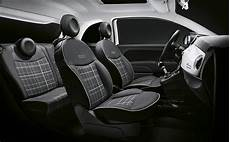 new fiat 500 interiors and refined