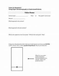 worksheets on paper chromatography 15701 paper chromatography