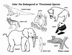 coloring pages of nature and animals 16380 free endangered animals coloring page exploring nature educational homehow net ζώα