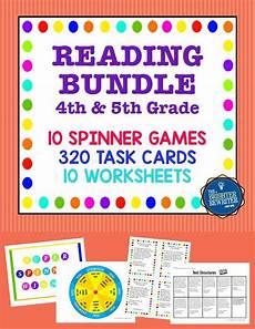 reading games bundle reading task cards reading games