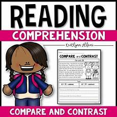 reading comprehension passages compare and contrast by