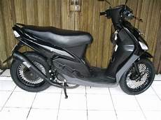 Modif Mio Sporty by Modifikasi Motor Matic Mio Sporty Black