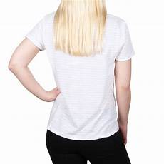tom tailor denim with lacepocket damen t shirt wei 223