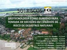 sistema gerenciador de informa 231 245 es sobre riscos geol 243 gicos no estado