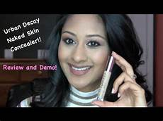 decay skin concealer review and demo makeup