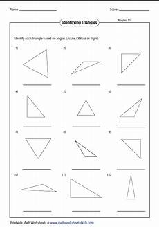 triangle classification based angles education triangle worksheet angles worksheet