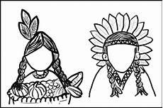 ausmalbilder zum ausdrucken ausmalbilder indianer