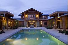 u shaped house plans with courtyard pool rustic mediterranean house plans pool u shaped with